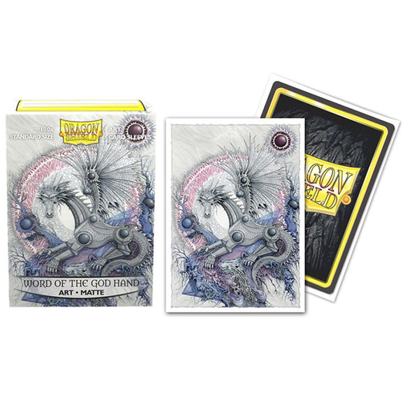 Dragon Shield Sleeves: Standard Matte- Word of the God Hand Art, Limited Edition (100ct.)