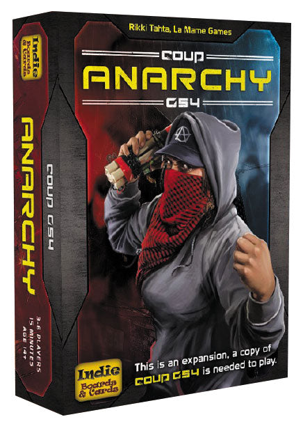 Coup: Rebellion G54 - Anarchy Expansion