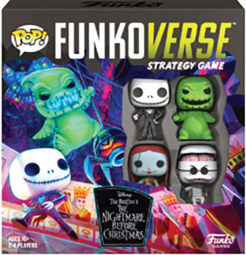 POP! Funkoverse: The Nightmare Before Christmas 100- Base