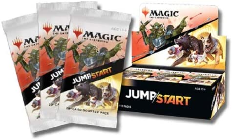 MTG Magic The Gathering Jumpstart Booster Pack Jump Start - 20 Cards Each, + Bonus Rare!