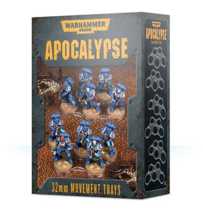 Warhammer 40,000 - Apocalypse 32mm Movement Trays