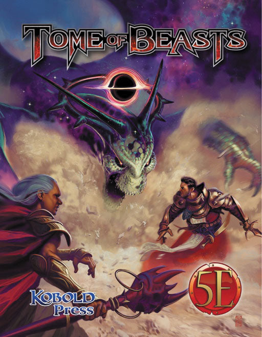 Dungeons and Dragons RPG: Tome of Beasts Hardcover