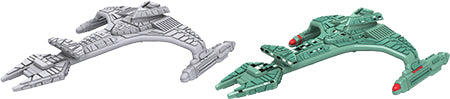 Star Trek Deep Cuts Unpainted Ships: Vorcha Class