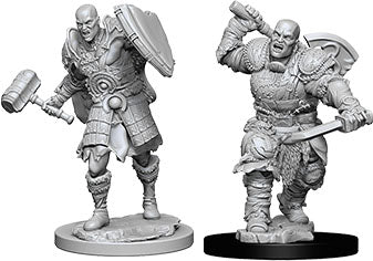 Dungeons & Dragons Nolzur`s Marvelous Unpainted Miniatures: W7 Male Goliath Fighter