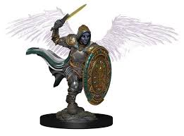 D&D Icons of the Realms: Premium Miniature - Aasimar Male Paladin
