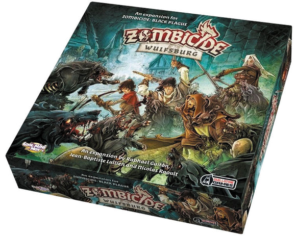 Zombicide: Wulfsburg - An expansion for Zombicide: Black Plague
