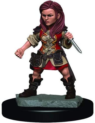 D&D Icons of the Realms: Premium Miniature - Halfling Female Rouge