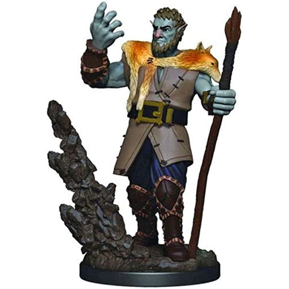 D&D Icons of the Realms: Premium Miniature - Firbolg Male Druid