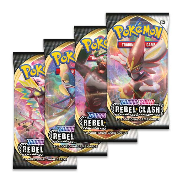 Pokemon TCG: Sword & Shield - Rebel Clash Booster Pack