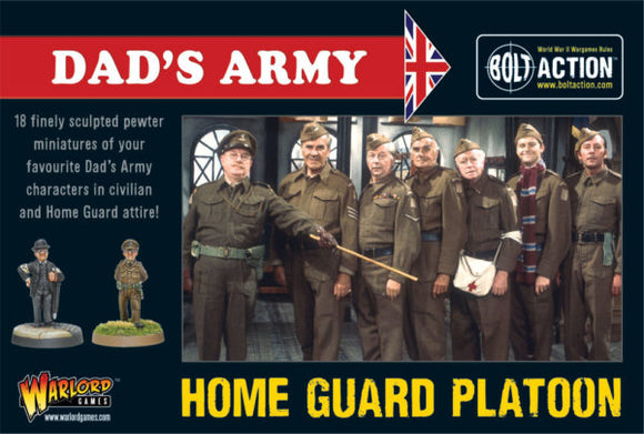 Bolt Action: British Dad`s Army Boxed Set
