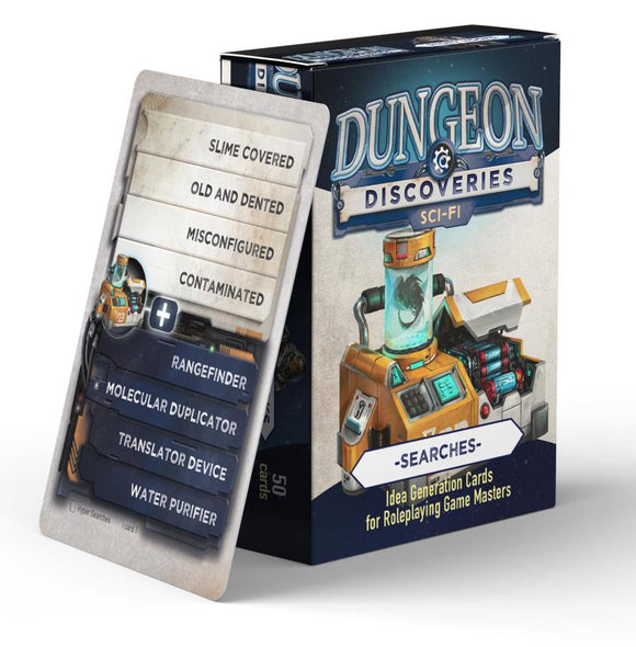 Copy of Dungeon Discoveries: Sci-Fi Searches