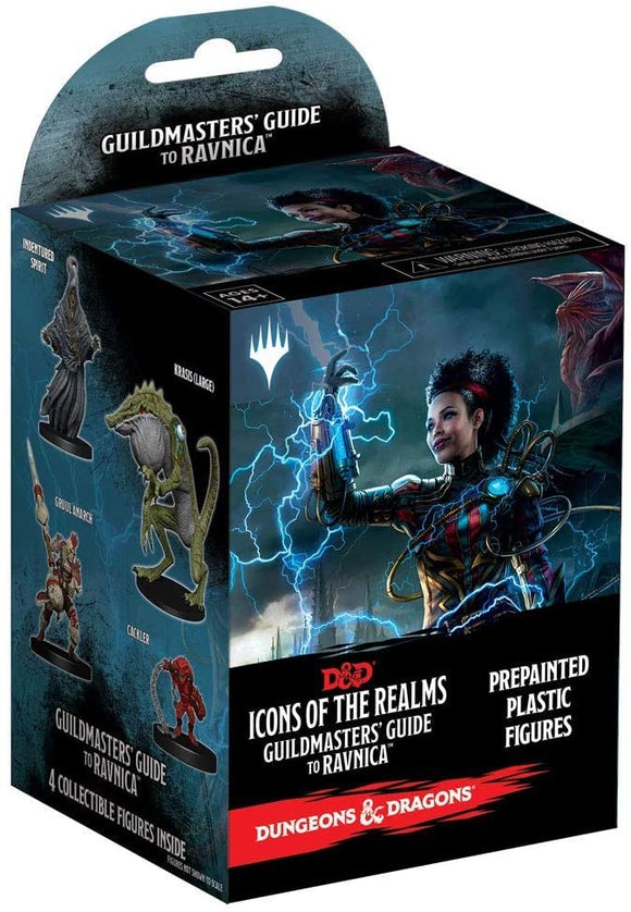 Dungeons & Dragons Fantasy Miniatures: Icons of the Realms Set 10 Guildmasters' Guide to Ravnica Booster