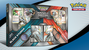 Pokemon TCG: Battle Arena Deck- Black Kyurem vs White Kyurem Box