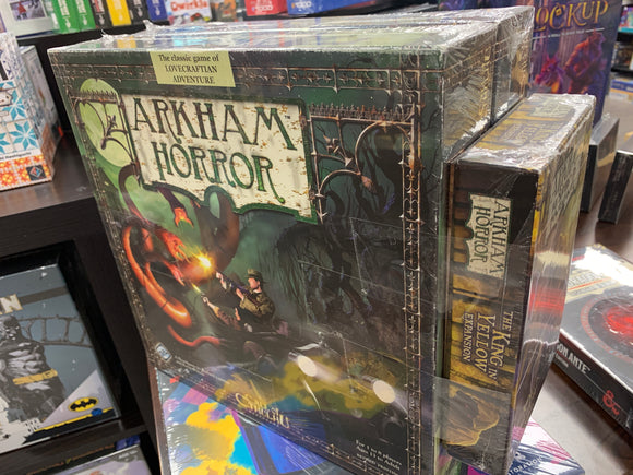 CONSIGNMENT - Arkham Horror Board Game 2rd Edition + Expansions