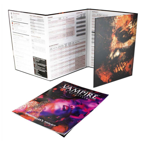 Vampire The Masquerade 5th Edition: Storyteller's Kit