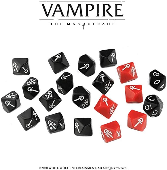 Vampire The Masquerade: Dice Set