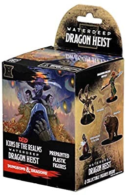 Dungeons & Dragons Fantasy Miniatures: Icons of the Realms Set 9 Waterdeep Dragon Heist Booster