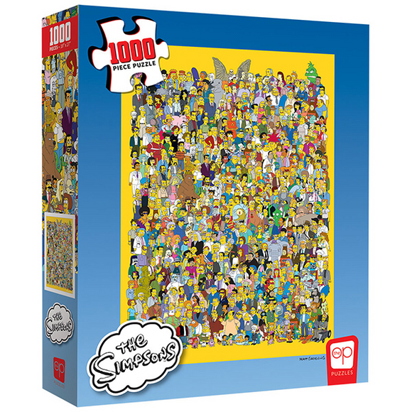 "Puzzles: Simpsons ""Cast of Thousands"" (1000 Piece)"