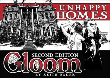 Gloom: Unhappy Homes Expansion 2nd Edition
