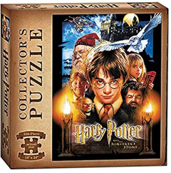 Puzzles: Harry Potter and The Sorcerer's Stone 550-Piece Collector's puzzle