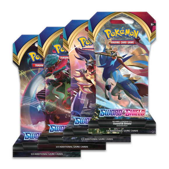 Pokemon TCG: Sword & Shield - Sleeved Booster Pack