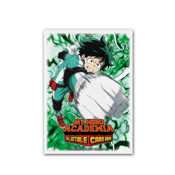 Dragon Shields: (100) Art -  My Hero Academia Collectible Card Game Sleeves