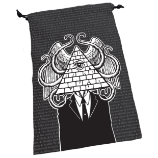 Illuminati Dice Bag