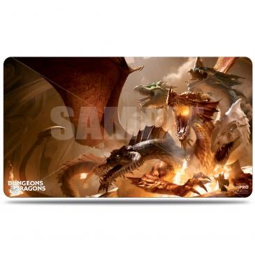 Playmat: Dungeons and Dragons: Cover Series Playmat - The Rise of Tiamat