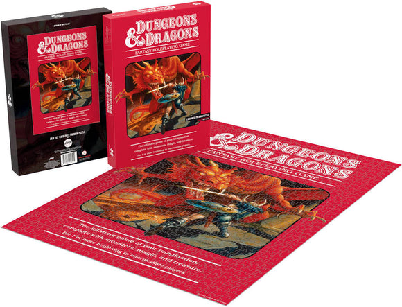 Puzzles: Dungeons & Dragons (1000 Piece)