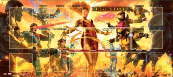 Legendary DBG: Dark Phoenix v. the X-Men Playmat