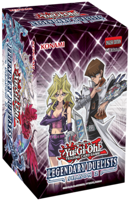 Yu-Gi-Oh! TCG: Legendary Duelists Season 2 Box