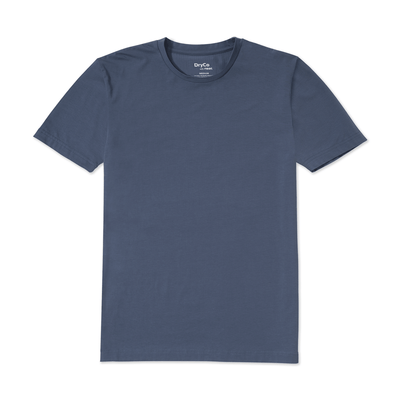 anti-sweat blue t-shirt
