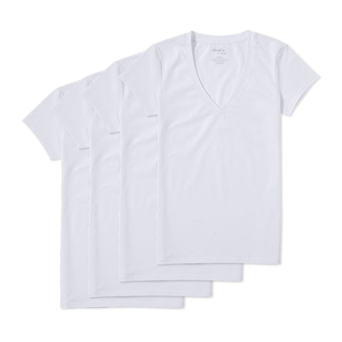 Neat™ Women Undershirt 4-Pack (V-Neck)