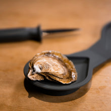 Load image into Gallery viewer, Edge Design's Knife and Holder included in the oyster set