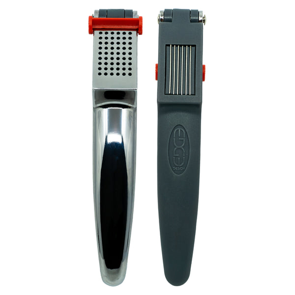 Edge Design's 2 in 1 Garlic Press for Mashing and Slicing