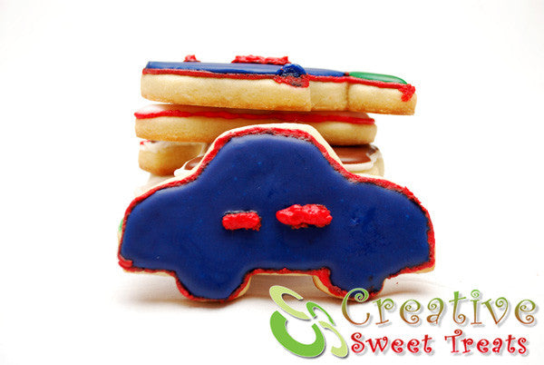 Car Shaped Sugar Cookies Delivered