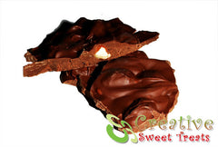 Chocolate Almond Bark Delivered (1lb.)