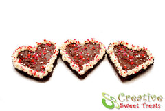 Chocolate Brownie Hearts