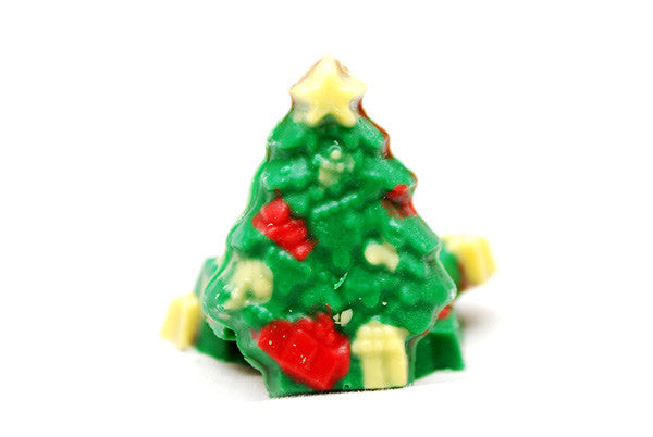 Mini Chocolate Christmas Trees Delivered