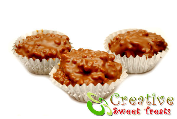 Chocolate Peanut Butter Crunch Cups Delivered