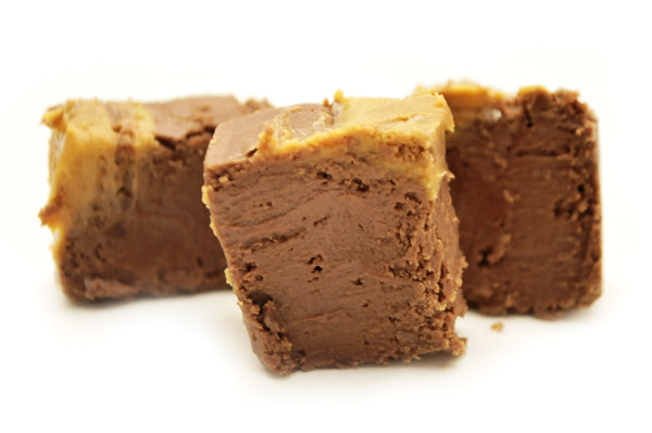 Chocolate Peanut Butter Fudge Delivered (1LB)