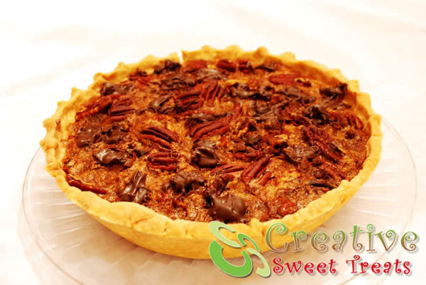 Chocolate Pecan Pie Delivered