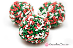 Christmas Sprinkle Truffles Delivered