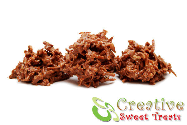 Chocolate Coconut Haystacks Delivered