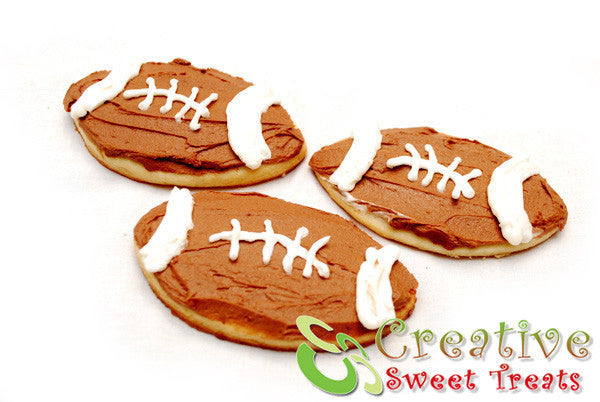 Super Bowl Sugar Cookies Delivered