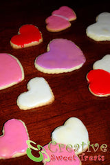 Heart Shaped Sugar Cookies Delivered