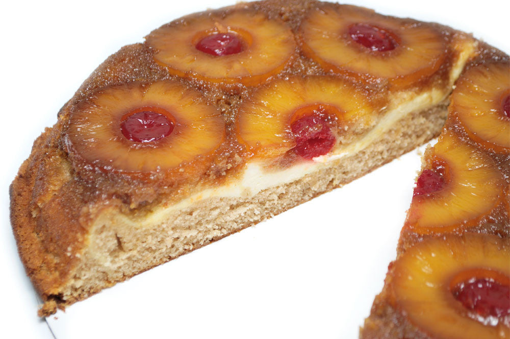 Cheesecake Filled Pineapple Upside Down Cake Delivered