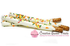Thanksgiving Chocolate Dipped Pretzel Rods Delivered