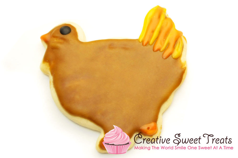 Turkey Shaped Sugar Cookies Delivered