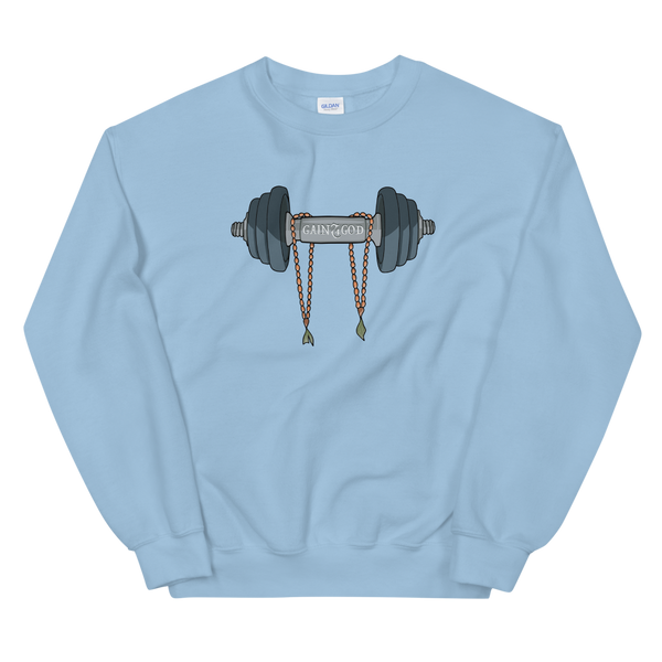 GAINZ 4 GOD Crewneck Sweatshirt